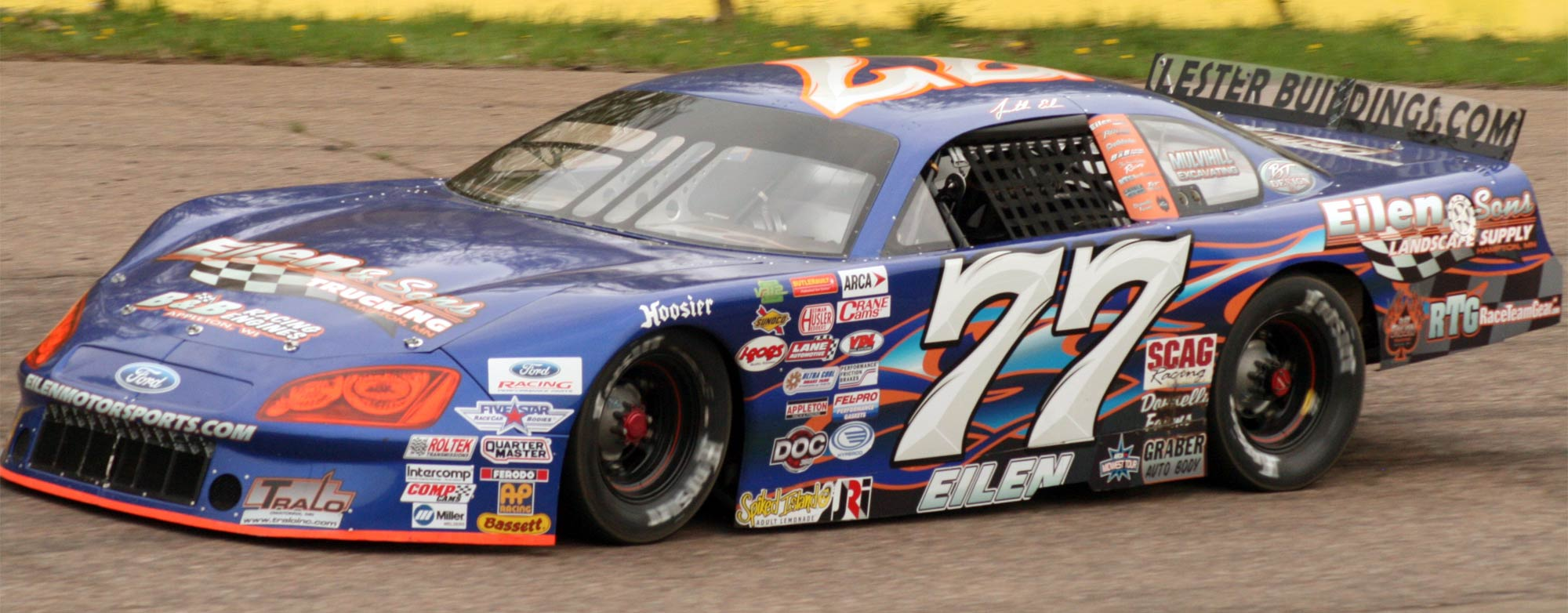 Elien & Sons Motorsports' #77 Car Driven by Jonathan Eilen